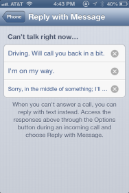 how to change caller id iphone