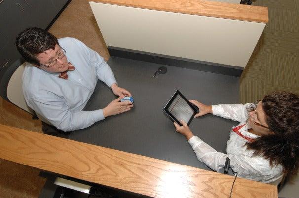 University of Cincinnati iPads