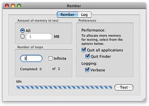 Bad RAM can lead to many hard-to-diagnose problems. You can use Rember to test yours for trouble <em>before</em> you get tripped up.