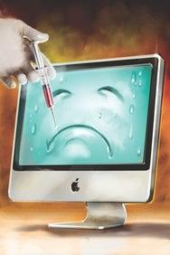 Antivirus ilustration