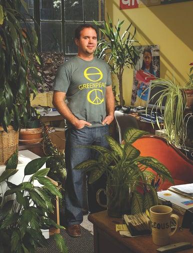 Greenpeace's Casey Harrell