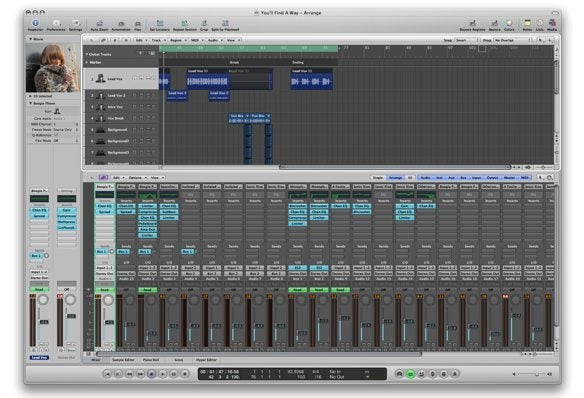profile logic studio versus garageband macworld rh macworld com Logic Pro for Windows logic studio 9 user manual