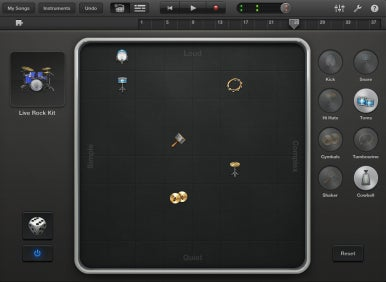 how to delete an instrument on garageband