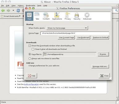 remote Firefox