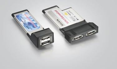 ExpressCard SATA adapters