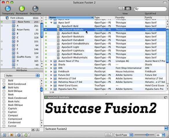Font Management With Suitcase Fusion 2 Macworld