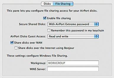 WAN disk sharing