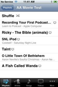 Using video playlists on the iPhone/iPod touch | Macworld