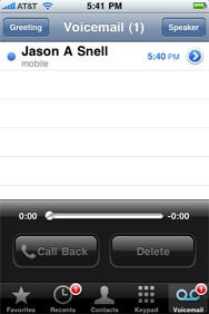 how to set up visual voicemail on iphone