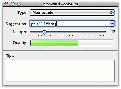 Password Assistant