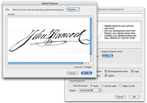 Sign electronic documents with your own handwritten signature ...