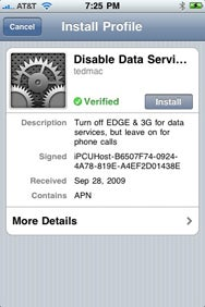 iPhone under the hood: Carrier settings and configuration