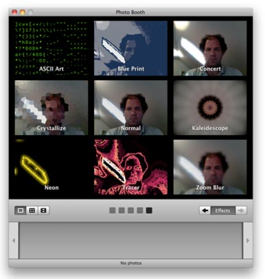 Add more effects to Photo Booth and iChat | Macworld