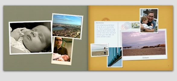Themes iphoto book
