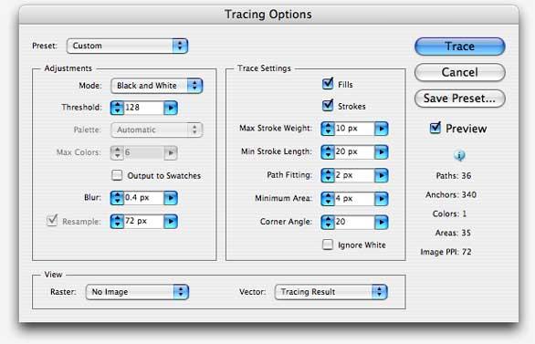 Illustrator tip: Live Trace | Macworld