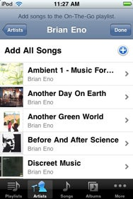 create playlist on iphone create playlists on your ipod or iphone macworld 6638