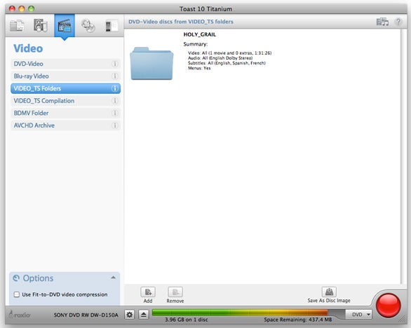 Make exact backup copies of your DVDs | Macworld