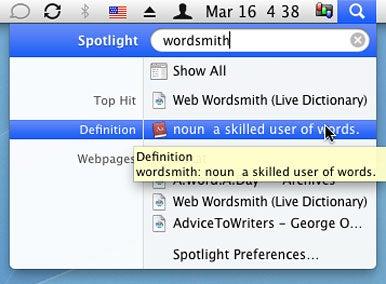 Spotlight  definitions