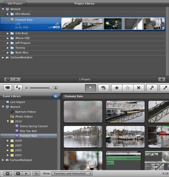 relocate your imovie projects macworld rh macworld com iMovie Event Library iMovie Event Library