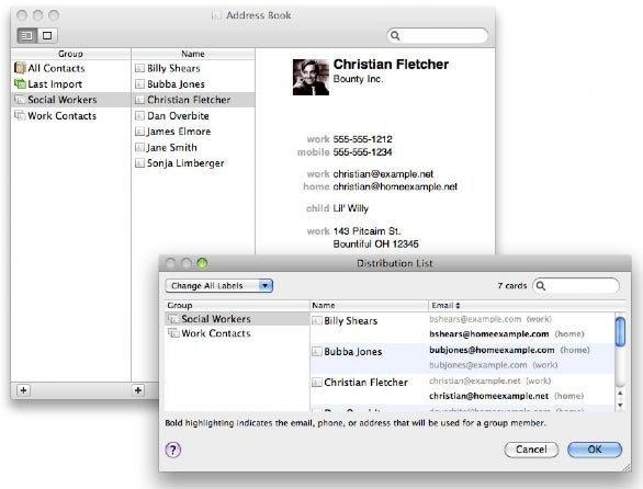 Five Fantastic Address Book Tips  Macworld