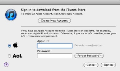 Creating iTunes account without a credit card | Macworld