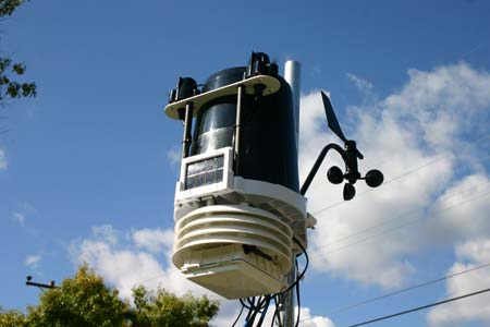 Vantage Pro Weather Station in my backyard
