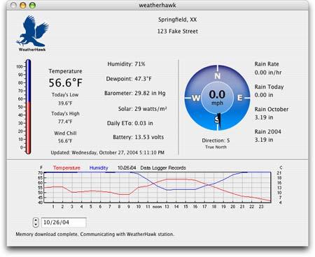 WeatherHawk Screen Shot