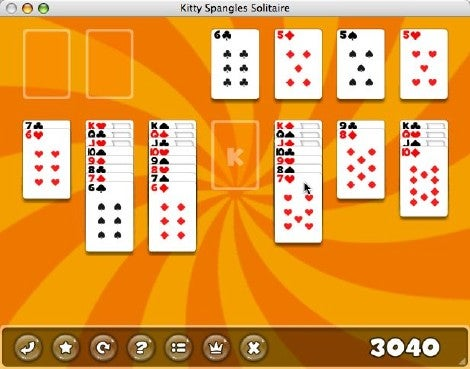 Kitty Spangles Solitaire 2