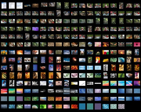 Spotlight thumbnail slideshow