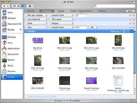 Spotlight Smart Folders