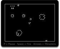 Asteroids widget