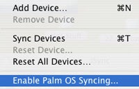 iSync Palm Conduit