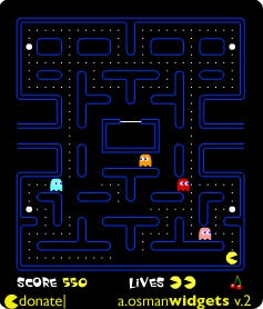 PacMan widget