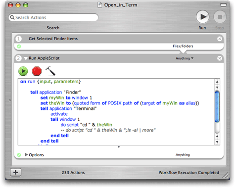 Open Current Finder Folder In Terminal Macworld