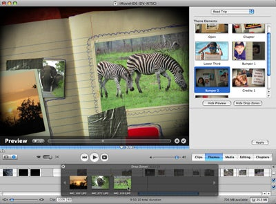 imovie 6 themes download