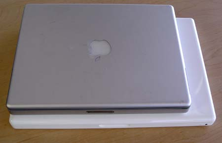 MacBook vs. 12-inch PowerBook
