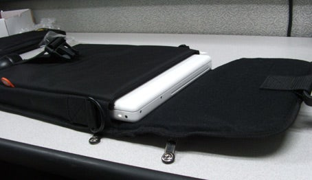 MacBook and case