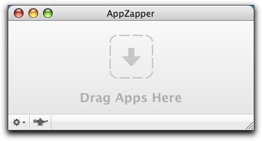 AppZapper main window drop zone