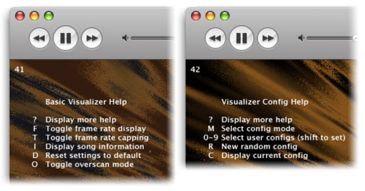 how to change itunes visualizer