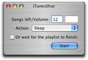 iTunesShut window