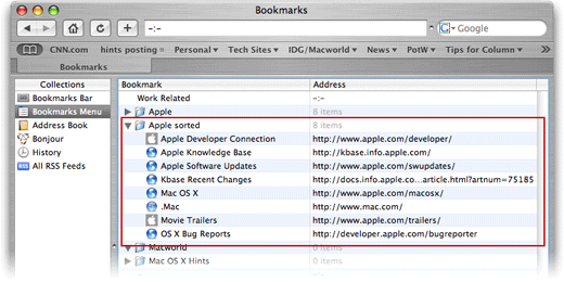 How to add bookmarks on safari mac