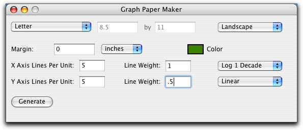 Make Your Own Graph Paper Macworld