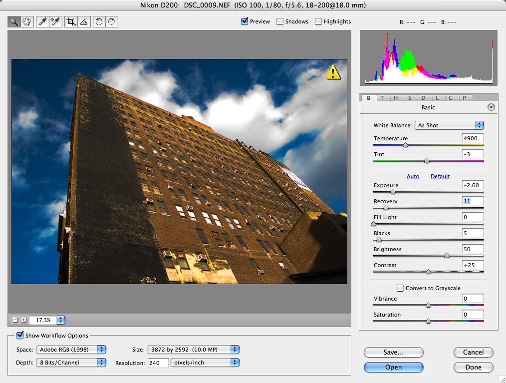 Muat Turun Adobe Photoshop Percuma Cs2 Camera Raw Filter App