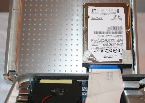 Apple TV drive reinstalled