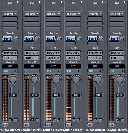 Logic Audio Objects