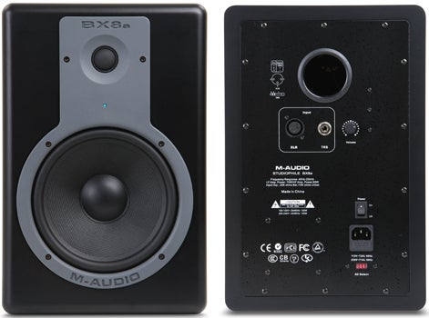 BX8a monitors - front and back
