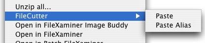 FileCutter menu 2
