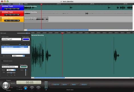 how to cut audio clips garageband