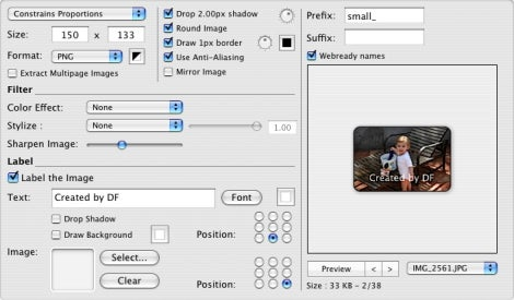 CocoThumbX icon files dialog