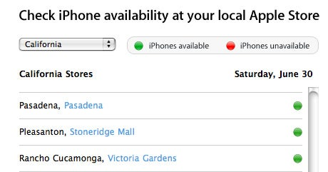 iphone availability